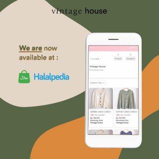 """""""Kak ada opsi platform lain gak buat beli sweater @vintagehouse_id ?"""" - Jawabannya ada! Sekarang kamu bisa mendapatkan produk Vintage House di Halalpedia😆"""